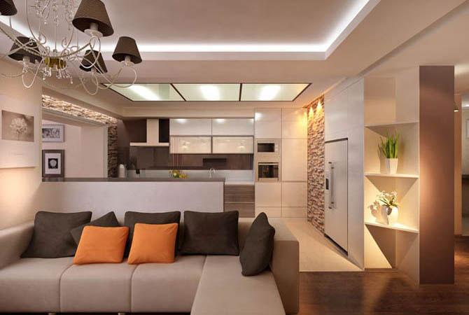 Дизайн квартир в доме серии п44т