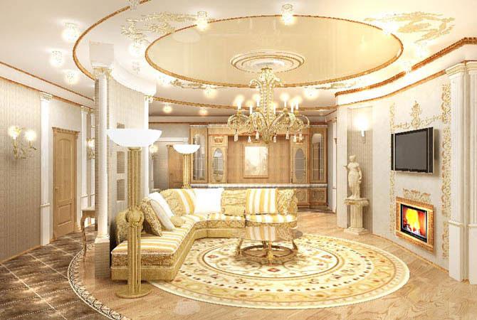 Проектные решения дизайна квартиры