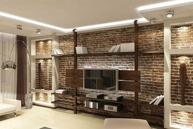 Дизайн гостиной в типовой квартире с фото